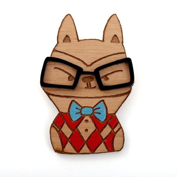 Fox-glasses-waitcoat